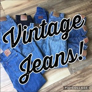 Why you should buy vintage jeans!